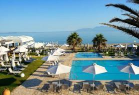 Ostrov Korfu a hotel Acharavi Beach s bazénem