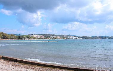 Ostrov Korfu a Dassia na pobřeží