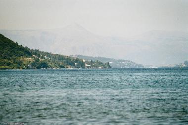 Letovisko Messonghi na ostrově Korfu