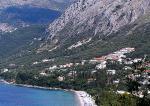 Pobřeží u Barbati na ostrově Korfu
