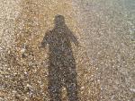 Pláž Barbati s oblázky