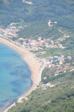 Ostrov Korfu a oblast Agios Georgios